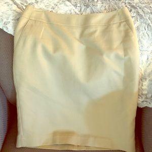 Merona tan stretch skirt